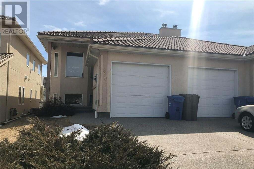 House for sale at 418 Canyon Blvd W Lethbridge Alberta - MLS: ld0192232