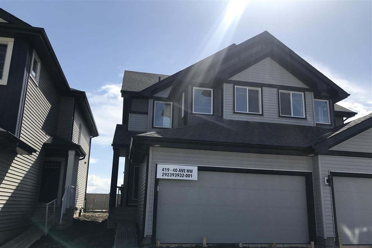 Townhouse for sale at 419 40 Av NW Edmonton Alberta - MLS: E4194167
