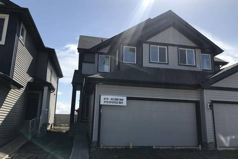 Townhouse for sale at 419 40 Ave Nw Edmonton Alberta - MLS: E4156561