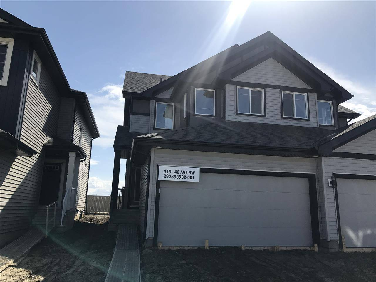 Townhouse for sale at 419 40 Ave Nw Edmonton Alberta - MLS: E4184081