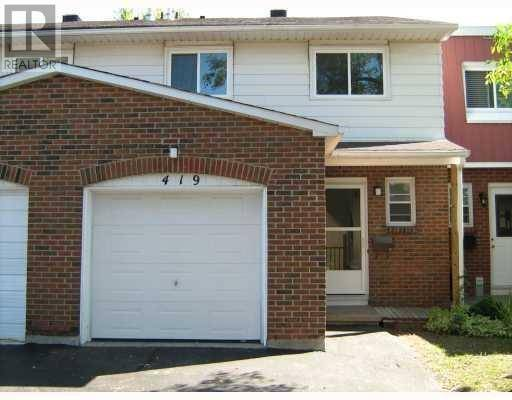 Townhouse for sale at 419 Armonia Pt Ottawa Ontario - MLS: 1172866