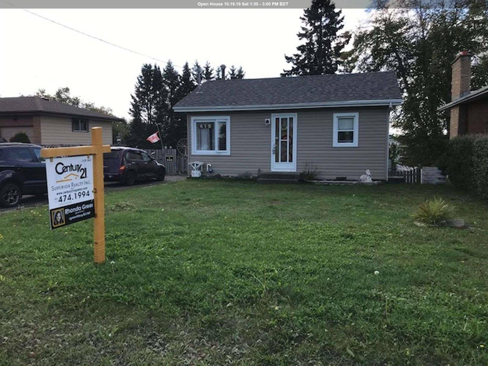 House for sale at 419 Arundel St Thunder Bay Ontario - MLS: TB193193