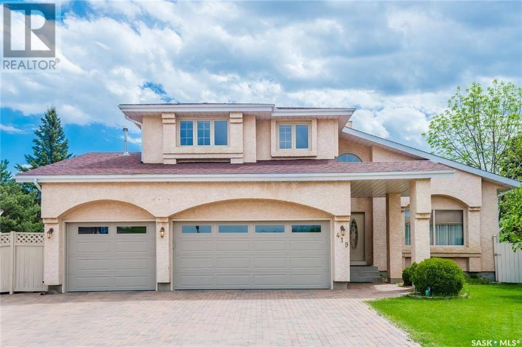 House for sale at 419 Braemar Ct Saskatoon Saskatchewan - MLS: SK772837