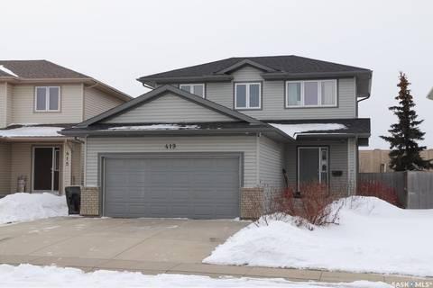 House for sale at 419 Buckwold Cove Saskatoon Saskatchewan - MLS: SK804045