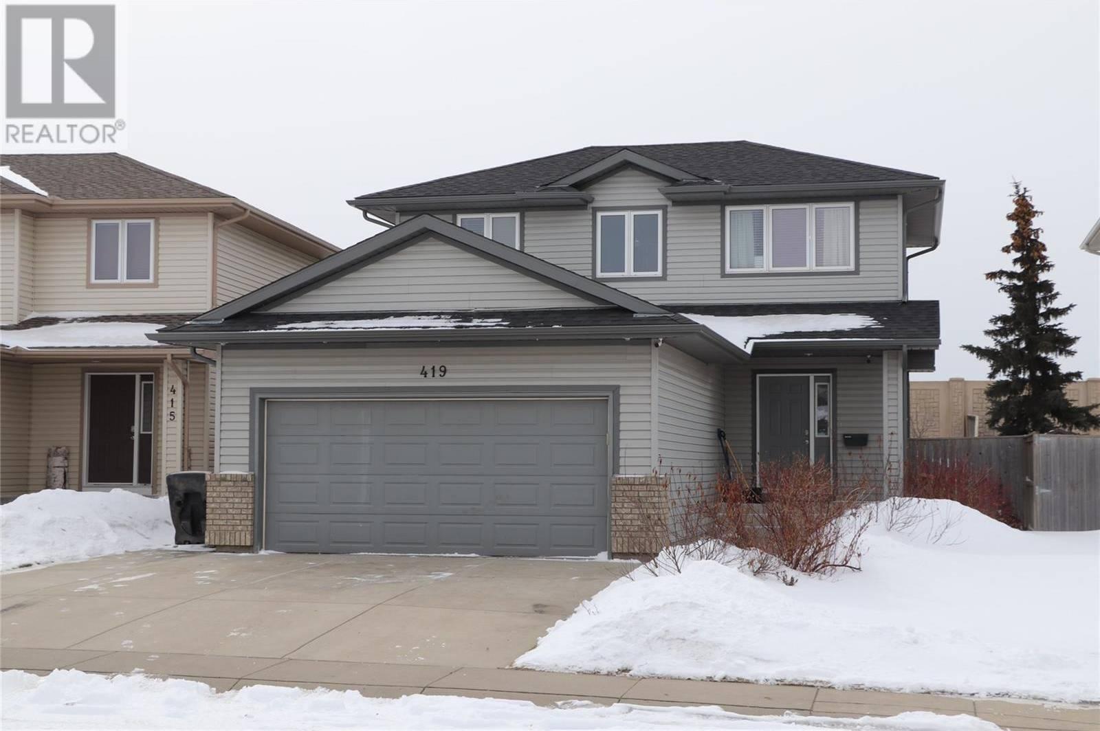 House for sale at 419 Buckwold Cv  Saskatoon Saskatchewan - MLS: SK804045