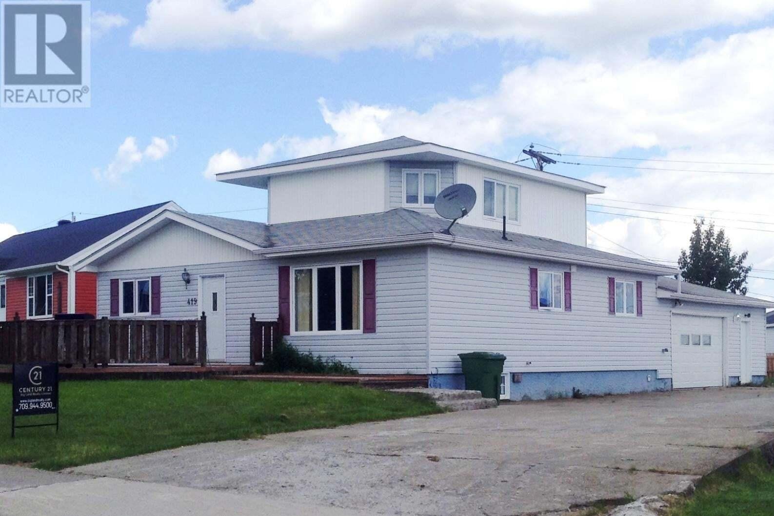 House for sale at 419 Massey Cres Labrador City Newfoundland - MLS: 1212161