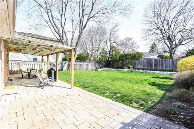 For Sale: 419 Sunset Drive, Oakville, ON | 3 Bed, 3 Bath House for $879,900. See 20 photos!