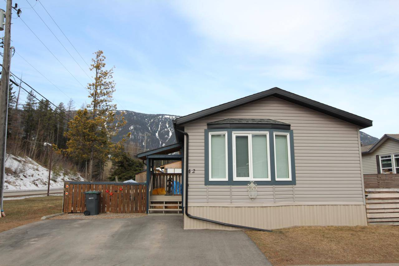 Residential property for sale at 100 Aspen Drive  Unit 42 Sparwood British Columbia - MLS: 2451401