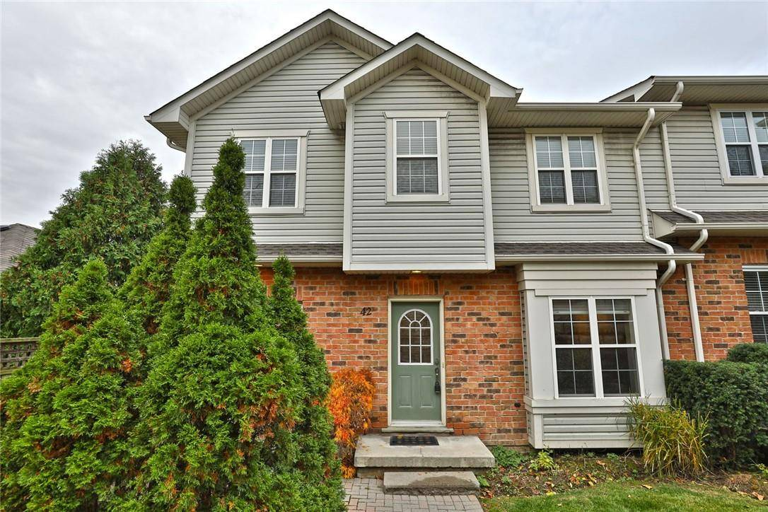 Townhouse for sale at 1085 Harrogate Dr Unit 42 Ancaster Ontario - MLS: H4067027