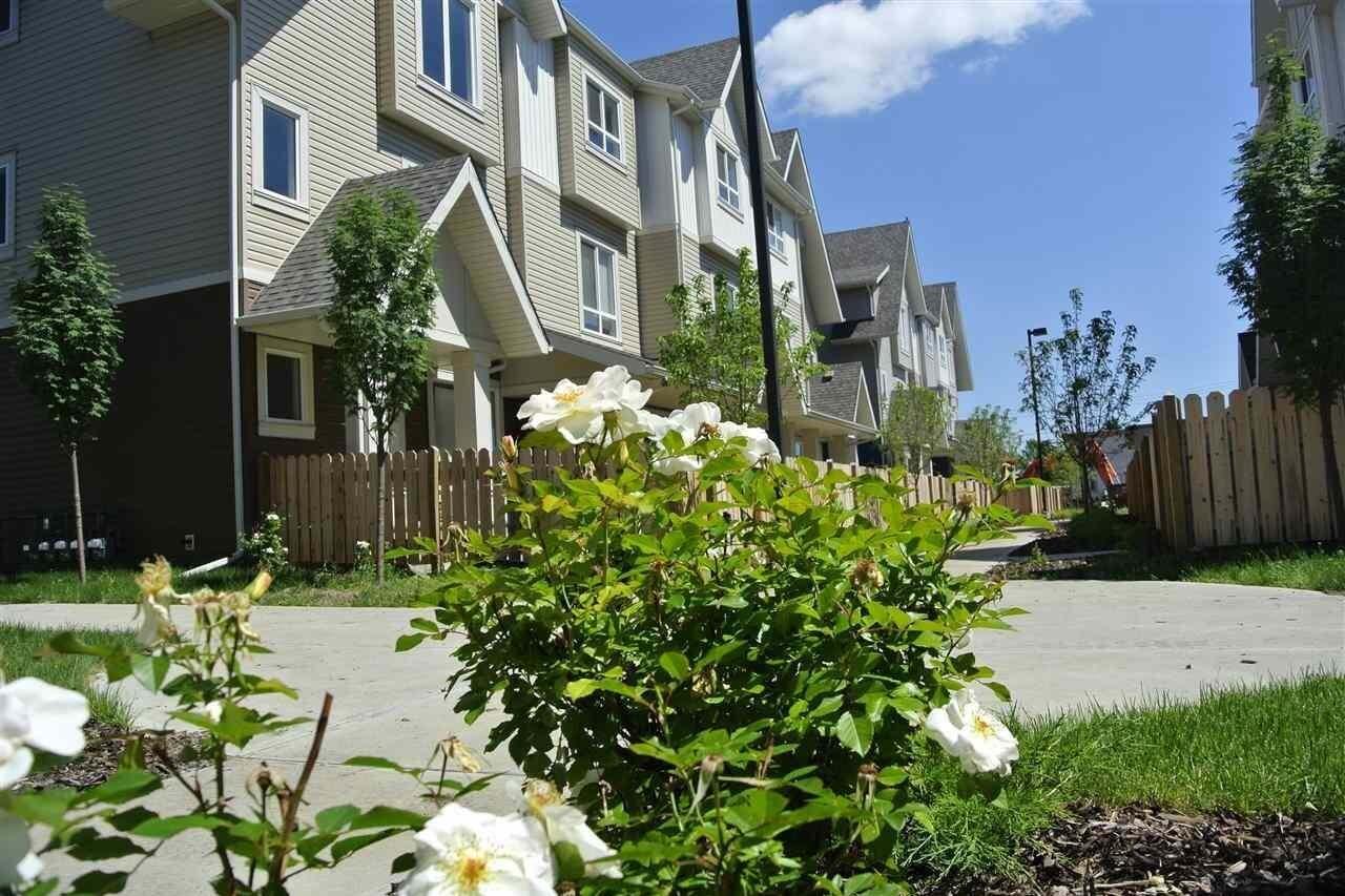 Townhouse for sale at 13003 132 Av NW Unit 42 Edmonton Alberta - MLS: E4195708
