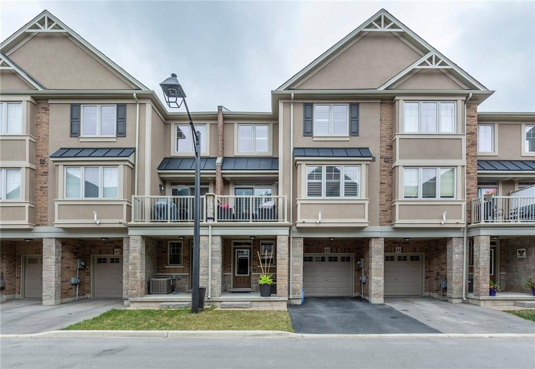 Townhouse for sale at 201 Westbank Tr Unit 42 Stoney Creek Ontario - MLS: H4061313