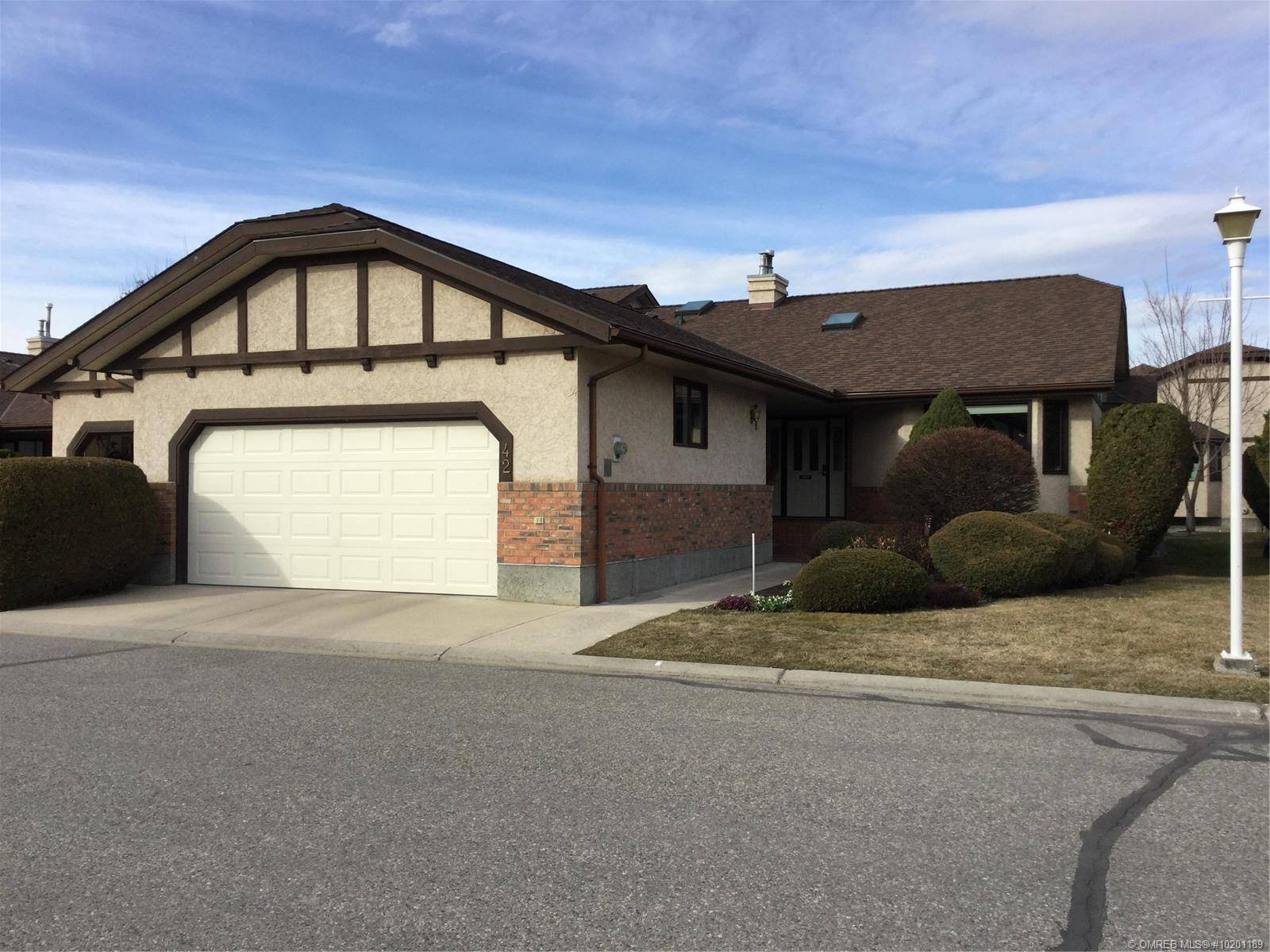 Townhouse for sale at 2200 Gordon Dr Unit 42 Kelowna British Columbia - MLS: 10201189
