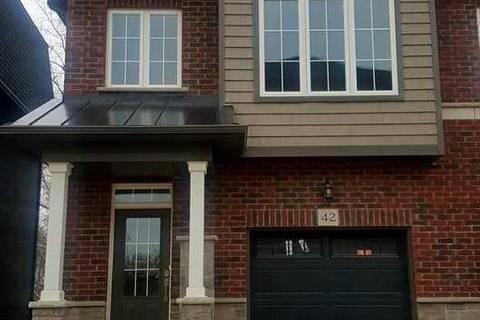 Townhouse for rent at 445 Ontario St Unit 42 Milton Ontario - MLS: W4435957
