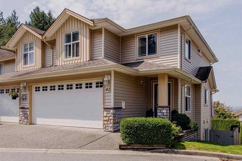 Townhouse for sale at 46906 Russell Rd Unit 42 Sardis British Columbia - MLS: R2395597