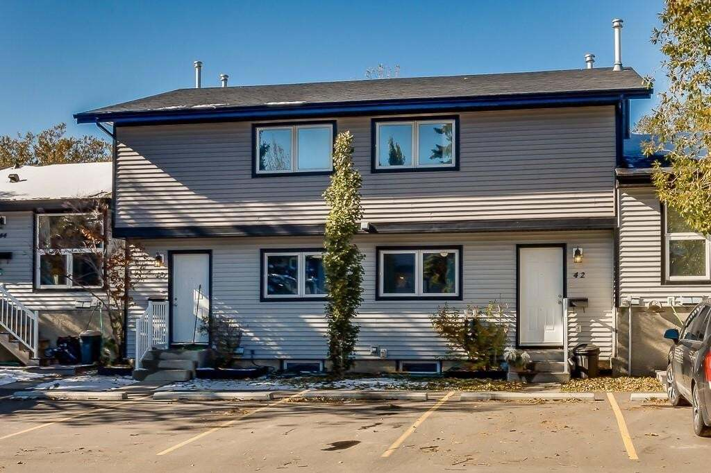 Townhouse for sale at 51 Big Hill Wy SE Unit 42 Big Springs, Airdrie Alberta - MLS: C4294757