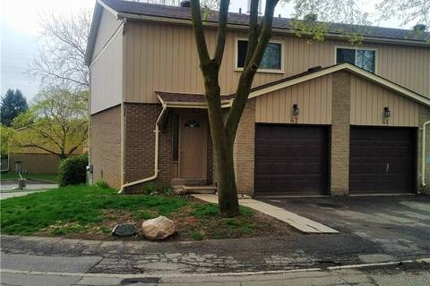 Townhouse for sale at 51 Paulander Dr Unit 42 Kitchener Ontario - MLS: 30733896
