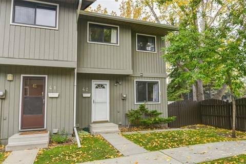 Townhouse for sale at 6503 Ranchview Dr Northwest Unit 42 Calgary Alberta - MLS: C4269690