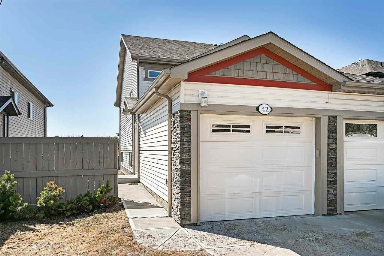 Townhouse for sale at 6520 2 Av SW Unit 42 Edmonton Alberta - MLS: E4209444