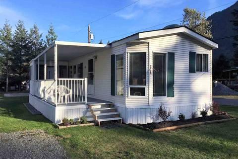 Home for sale at 65367 Kawkawa Lake Rd Unit 42 Hope British Columbia - MLS: R2339519