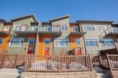Townhouse for sale at 7503 Getty Gt Nw Unit 42 Edmonton Alberta - MLS: E4147229