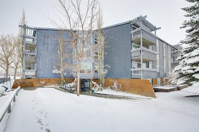 For Sale: 42 - 820 89 Avenue Southwest, Calgary, AB | 1 Bed, 1 Bath Condo for $184,900. See 2 photos!