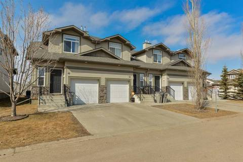 Townhouse for sale at 9511 102 Ave Unit 42 Morinville Alberta - MLS: E4138220