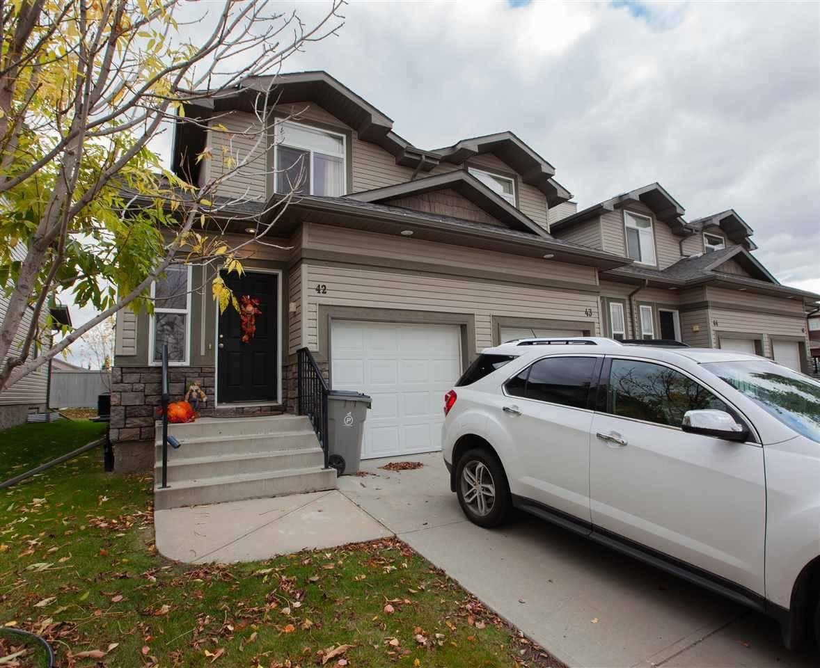 Townhouse for sale at 9511 102 Ave Unit 42 Morinville Alberta - MLS: E4175476