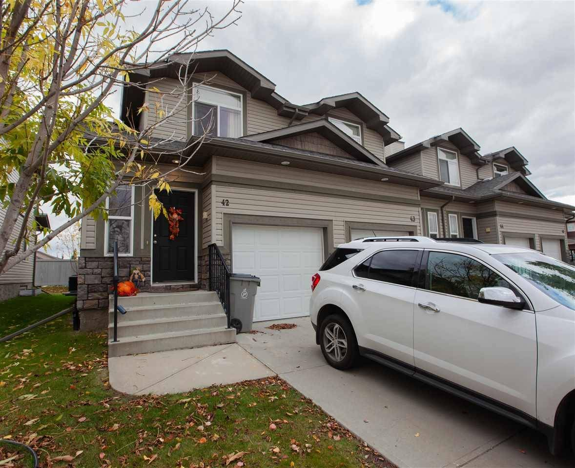 Townhouse for sale at 9511 102 Ave Unit 42 Morinville Alberta - MLS: E4193475