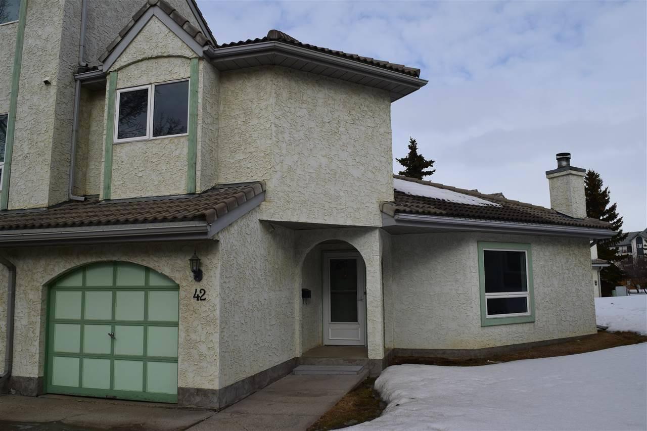 Townhouse for sale at 9520 174 St Nw Unit 42 Edmonton Alberta - MLS: E4192629