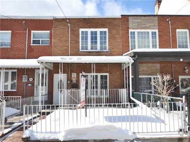 For Sale: 42 Brookfield Street, Toronto, ON | 4 Bed, 2 Bath Townhouse for $1,150,000. See 20 photos!