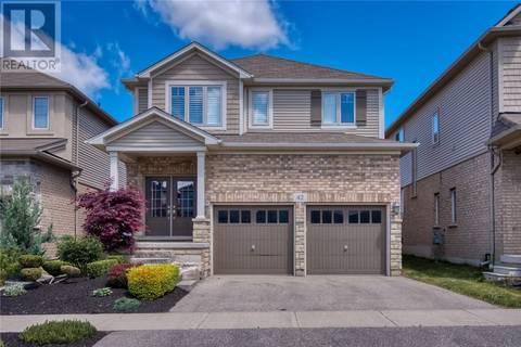 House for sale at 42 Creek Ridge St Kitchener Ontario - MLS: 30743662