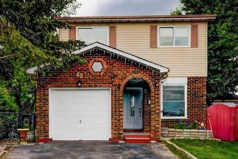 House for sale at 42 Elderwood Pl Brampton Ontario - MLS: W4494973