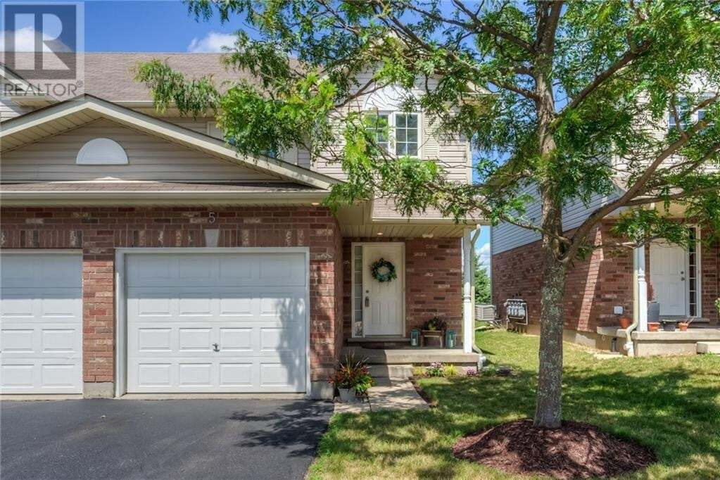 Townhouse for sale at 42 Fallowfield Dr Kitchener Ontario - MLS: 30827894