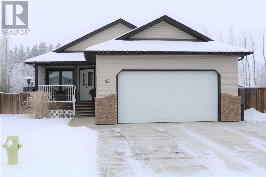 House for sale at 42 Firdale Ct Sylvan Lake Alberta - MLS: ca0184878