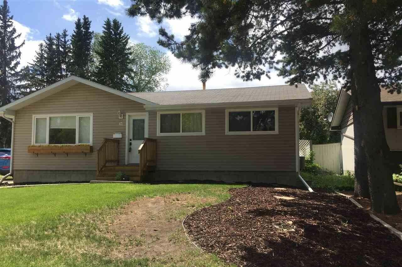 House for sale at 42 Grandin Rd St. Albert Alberta - MLS: E4197730