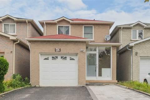 House for sale at 42 Ingram Rd Markham Ontario - MLS: N4727280
