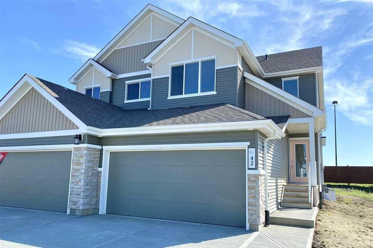 Townhouse for sale at 42 Juneau Wy St. Albert Alberta - MLS: E4201782