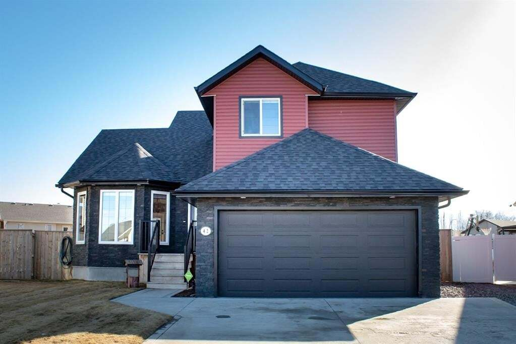 House for sale at 42 Mackenzie Cres Lacombe Alberta - MLS: A1001657