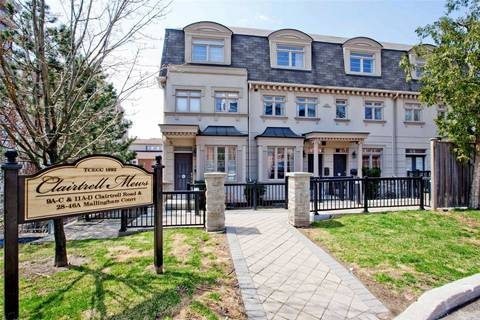 Townhouse for sale at 42 Mallingham Ct Toronto Ontario - MLS: C4424007