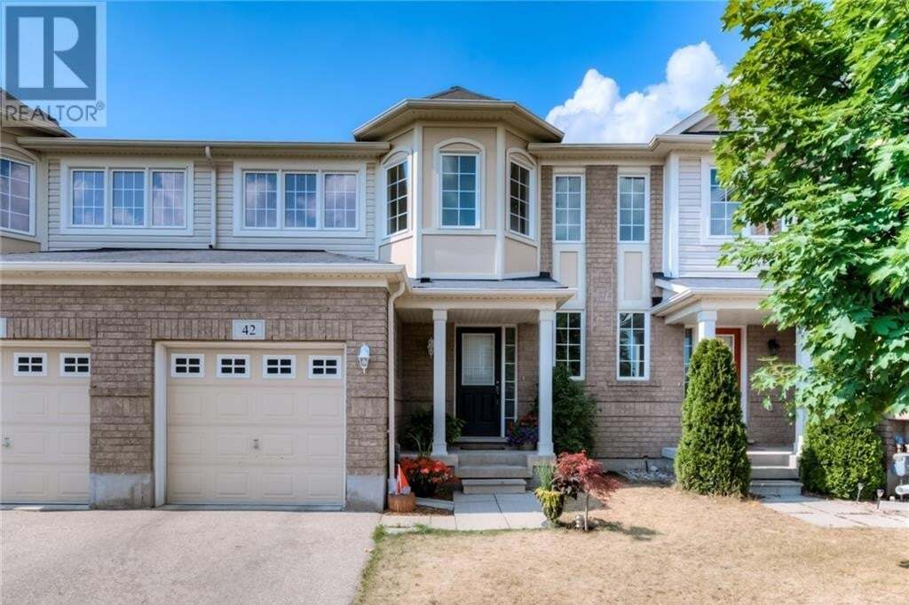 Townhouse for sale at 42 Manhattan Circ Cambridge Ontario - MLS: 30821237