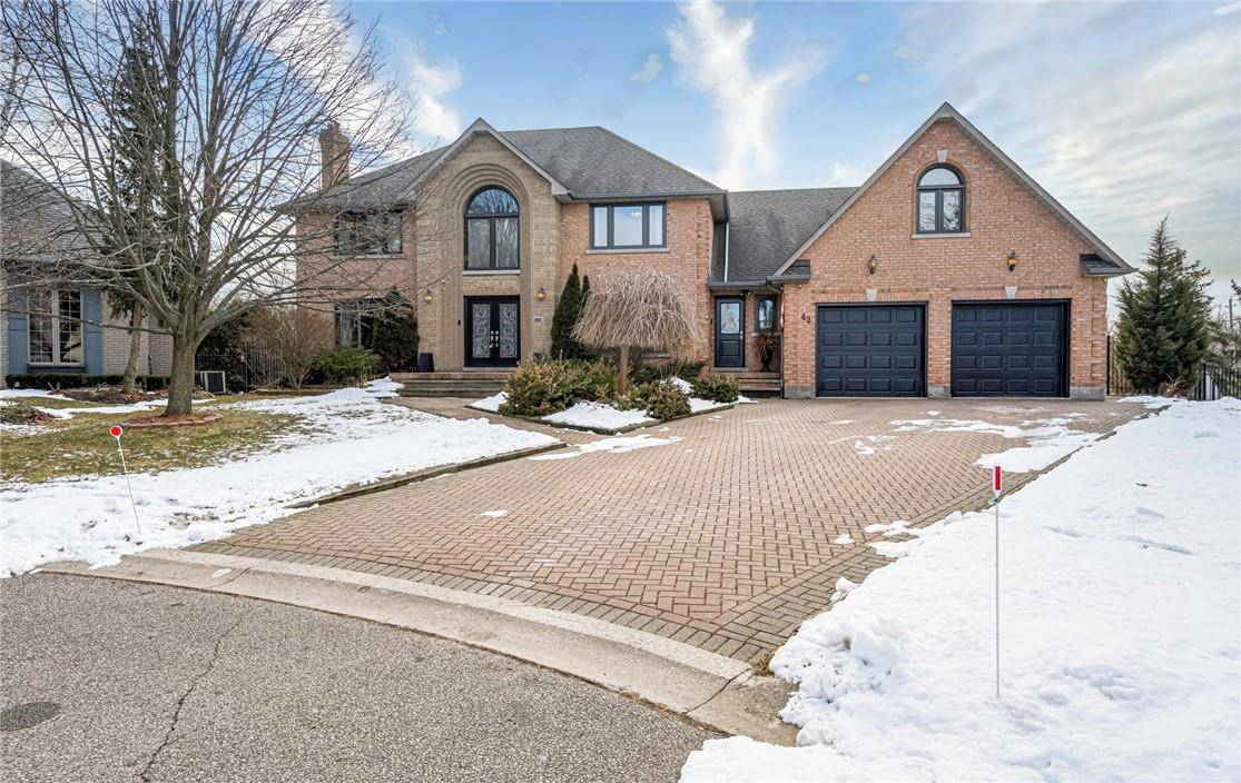 House for sale at 42 Milne Ct Ancaster Ontario - MLS: H4071815