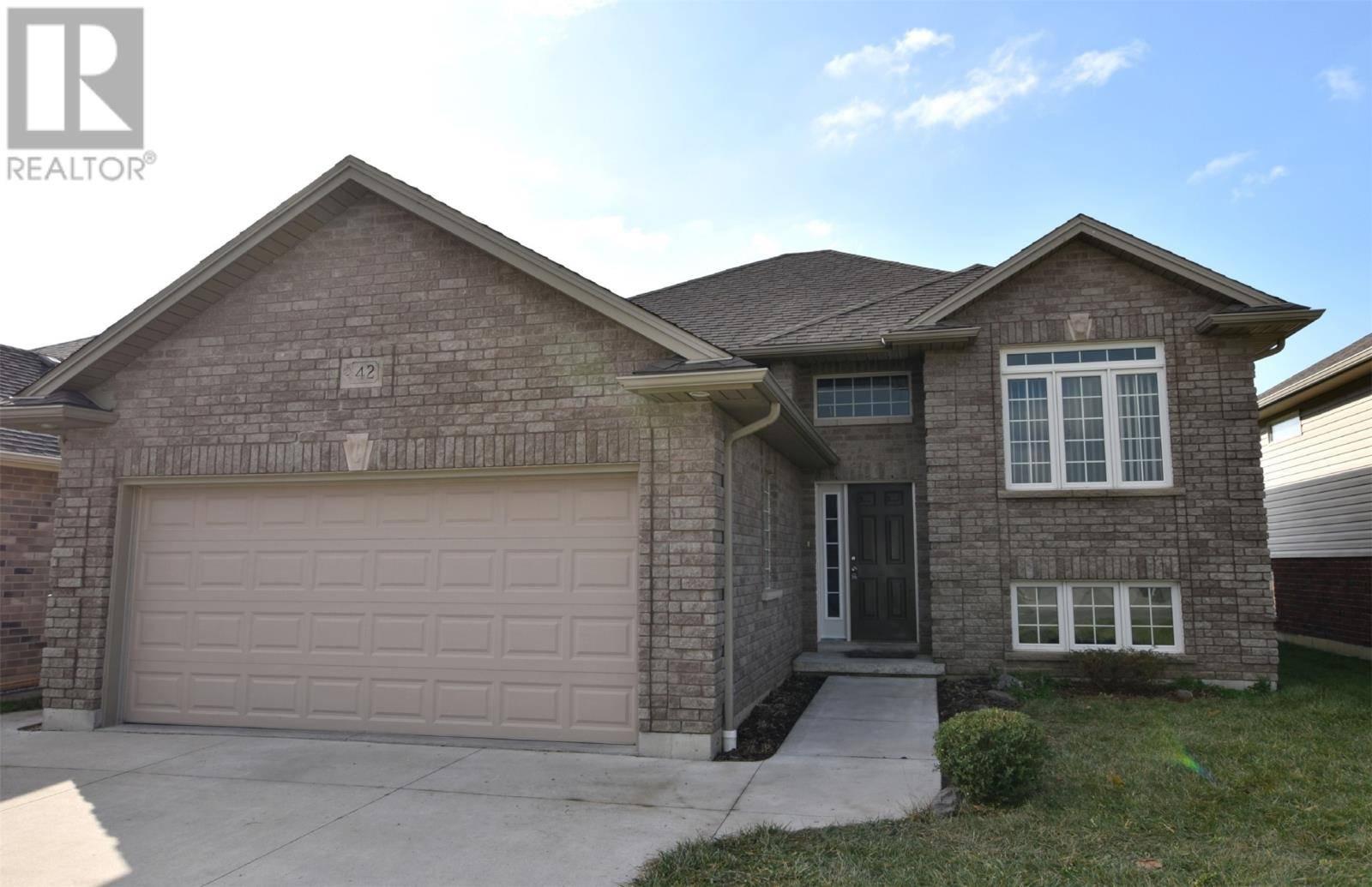 House for sale at 42 Molengraaf Way  Chatham Ontario - MLS: 20000140
