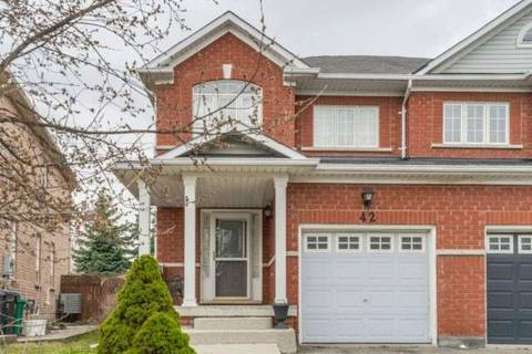 Townhouse for sale at 42 Mossgrove Cres Brampton Ontario - MLS: W4422321