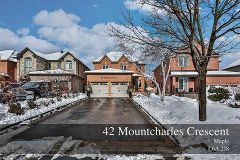 House for sale at 42 Mountcharles Cres Vaughan Ontario - MLS: N4694047