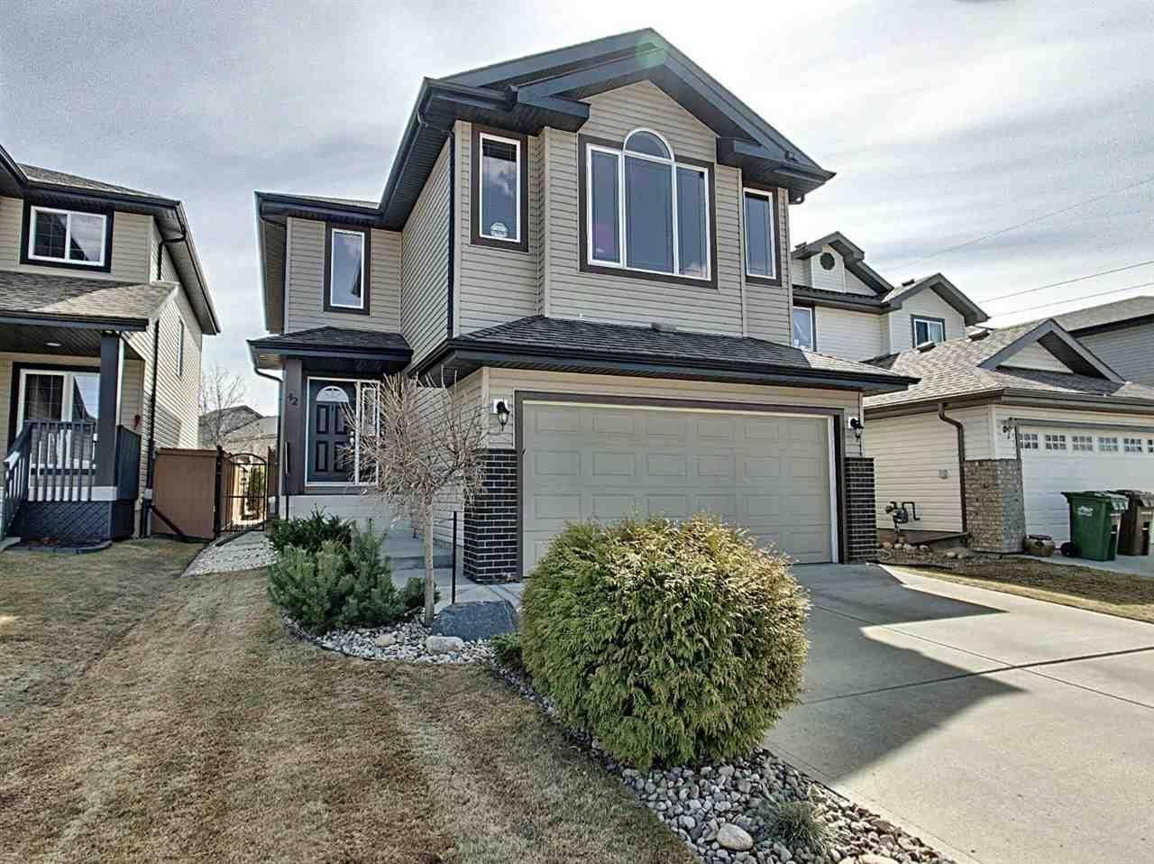House for sale at 42 Norelle Te St. Albert Alberta - MLS: E4195245