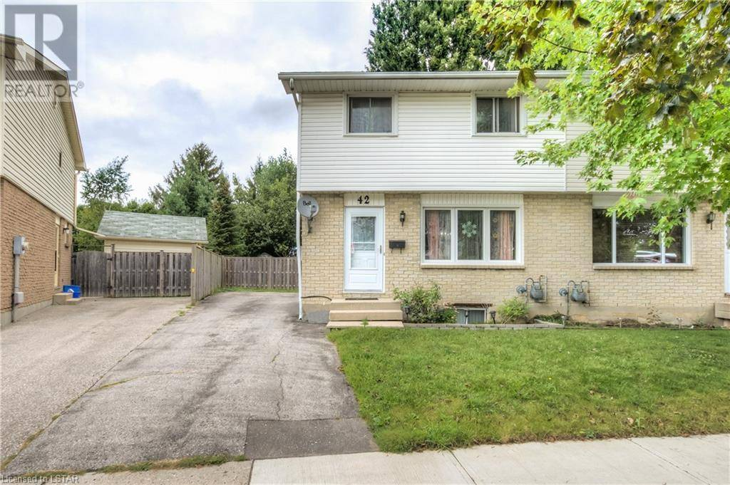 Residential property for sale at 42 Rosamond Cres London Ontario - MLS: 219033