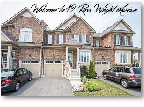 For Sale: 42 Ross Wright Avenue, Clarington, ON | 3 Bed, 4 Bath Townhouse for $539,900. See 20 photos!