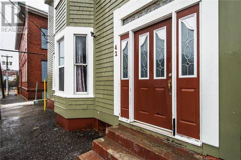 Townhouse for sale at 42 Spring St Saint John New Brunswick - MLS: NB021428