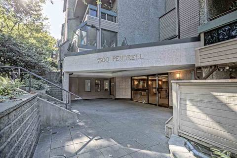 Condo for sale at 1500 Pendrell St Unit 420 Vancouver British Columbia - MLS: R2402416
