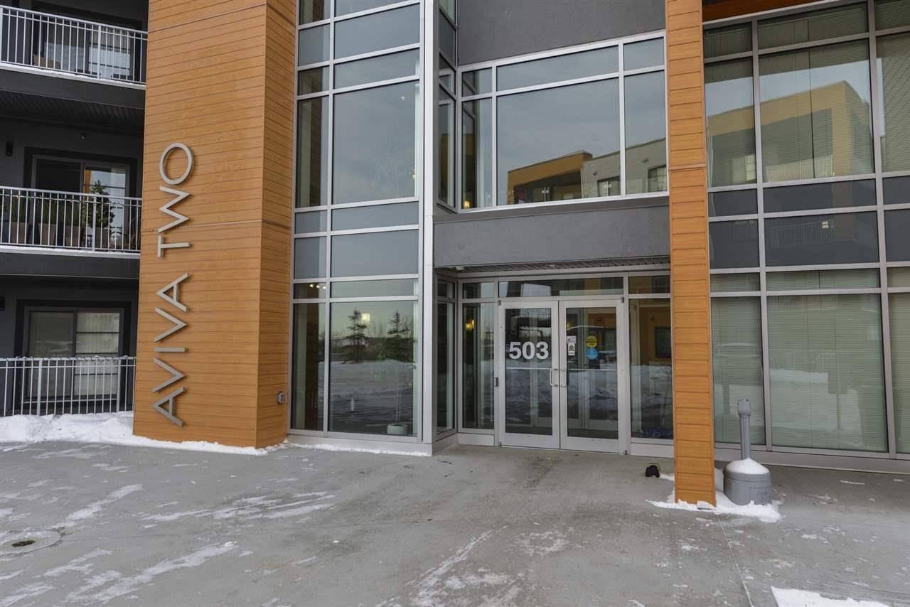Condo for sale at 503 Albany Wy Nw Unit 420 Edmonton Alberta - MLS: E4185453